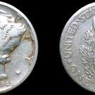1940-P Mercury Dime Silver