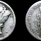 1943-D Mercury Dime Silver