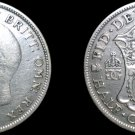 1929 Great Britain Half Crown World Silver Coin - UK - England