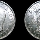 1942 Great Britain Half Crown World Silver Coin - UK - England