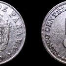 1970 Panamanian 5 Centesimo World Coin - Panama