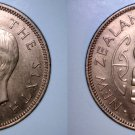 1951 New Zealand Half 1/2 Penny World Coin