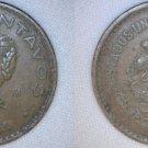 1944 Mexican 5 Centavo World Coin - Mexico