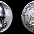 1941-P Washington Quarter Silver