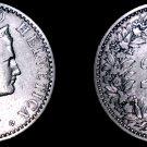 1881 Swiss 20 Rappen World Coin - Switzerland
