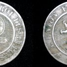 1862 Belgium 10 Centimes World Coin