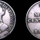 1929 Panamanian 2.5 Centesimo World Coin - Panama