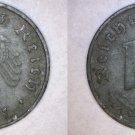 1941-D German 10 Reichspfennig World Coin -  Germany 3rd Reich