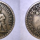 1925 French 1 Franc World Coin - France
