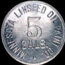 Vintage Minnesota Linseed Oil Paint Co Token