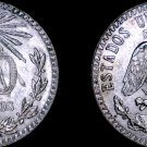 1943-M Mexican 20 Centavo World Silver Coin - Mexico