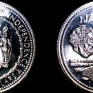1972 Jamaican 10 Dollar Proof World Silver Coin - Jamaica