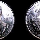 1977 Mexican 100 Peso World Silver Coin - Mexico Morelos - In Line 7s