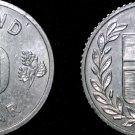 1971 Icelandic 10 Aurar World Coin - Iceland