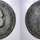 1903 Indian Quarter 1/4 Tanga World Coin - Portuguese India