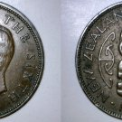 1950 New Zealand Half 1/2 Penny World Coin