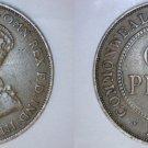 1933 (m) Australian 1 Penny World Coin - Australia