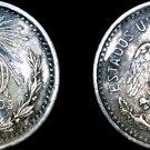 1905 Mexican 10 Centavo World Silver Coin - Mexico
