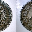 1885 Austrian 1 Kreuzer World Coin - Austria