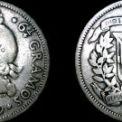 1939 Dominican 25 Centavo World Silver Coin - Dominican Republic