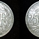 1927 French 25 Centimes World Coin - France