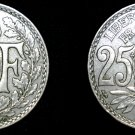 1929 French 25 Centimes World Coin - France
