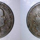 1881 Haitian 2 Centimes World Coin - Haiti