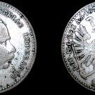 1870 Austrian 20 Kreuzer World Silver Coin - Austria