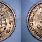 1974 Mozambique 20 Centavo World Coin - Portuguese Colonial