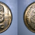 1984 Mexican 20 Centavo World Coin - Mexico