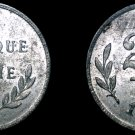 1944 Allied Occupied Belgian 2 Franc World Coin - Belgium