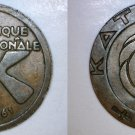 1961 Katanga 1 Franc World Coin