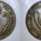 1943-SA East African 10 Cent World Coin - British Admin Kenya