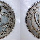 1942 East African 10 Cent World Coin - British Admin Kenya