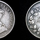 1919 Canadian Dime 10 Cents Canada Silver Coin