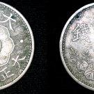 1923 (YR12) Japanese 10 Sen World Coin - Japan