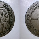 1926-A French Indochina 1 Cent World Coin - Vietnam