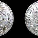 1937 Mexican 20 Centavo World Silver Coin - Mexico