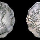 1935 (b) Indian 1 Anna World Coin - British India