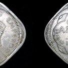 1941-B Indian 2 Anna World Coin - British India