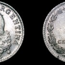 1938 Argentina 5 Centavo World Coin
