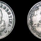 1942 Argentina 10 Centavo World Coin