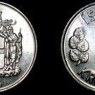 1976 Icelandic 5 Kronur World Coin - Iceland
