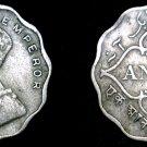 1936 (b) Indian 1 Anna World Coin - British India