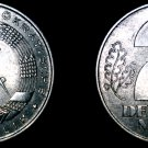 1957 A German Democratic Republic 2 Mark World Coin -  East Germany