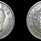 1950 Great Britain Half Crown World Coin UK England