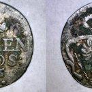 1755-D German States East Friesland Mariengroschen World Coin
