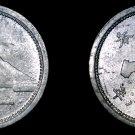 1943 (YR18) Japanese 1 Sen World Coin - Japan - Mount Fuji