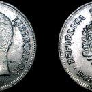 1989 Venezuelan 1 Bolivar World Coin - Venezuela