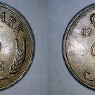 1968 Danish 5 Ore World Coin - Denmark